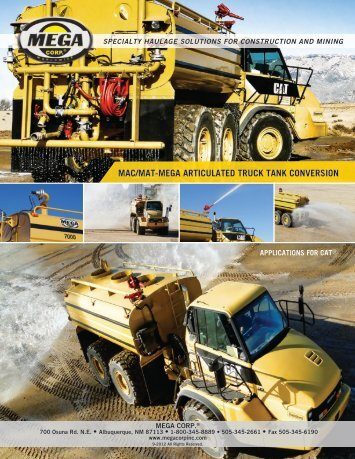 specialty haulage solutions for construction and ... - Mega Corporation