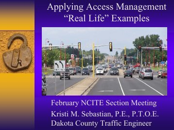 "Applying Access Management ""Real Life"" Examples (PDF)"