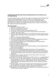 Handleiding bij het Mooiland inkomensregistratieformulier definitief