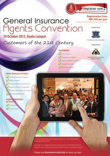 Agents Convention - The Malaysian Insurance Institute