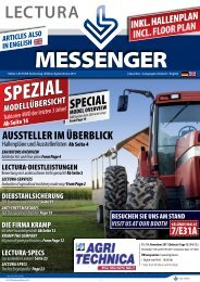 LECTURA-MESSENGER Agritechnica Hannover October 2011