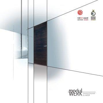 modulWERK innovative Türsysteme by Vitadoor