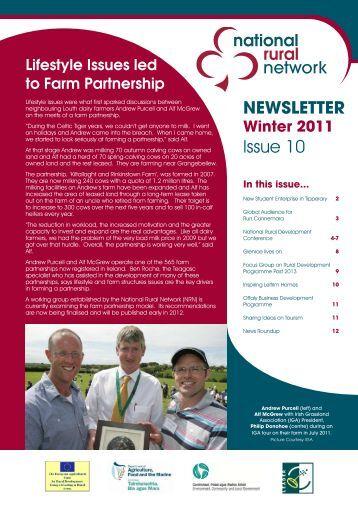 NRN Newsletter – Issue 10 – Winter 2011 - National Rural Network