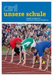 Jahrbuch 2012 - Förderverein des Canisianum - Gymnasium ...