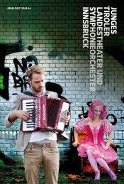 spielzeit 2013.14 - Tiroler Landestheater
