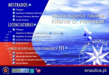 Ofertas formativas da ENIDH para o ano lectivo 2012/2013