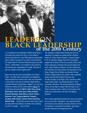 leaderson black leadership leaderson black leadership - Workforce ...