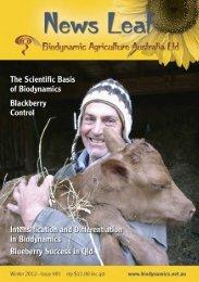 #91 News Leaf_News Leaf - Biodynamic Agriculture Australia