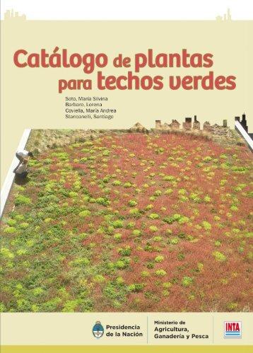 Catalogo de plantas para techos verdes - INTA