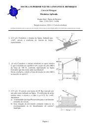 Exame ER - Escola Superior Náutica Infante D. Henrique
