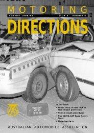 MOTORI NG Summer 1998/99 Issue 4 Volume - Australian ...