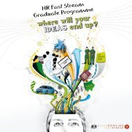 HR Fast Stream Graduate Programme - the Civil Service Fast Stream