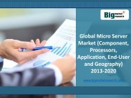 Key benefits of Global MicroServer Market Size, Share, 2013-2020