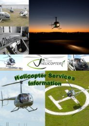 Flight Training - V² Helicopters