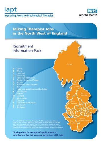 Improving Access to Psychological Therapies - Cheshire HR Service