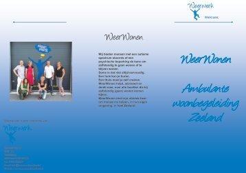WeerWonen Ambulante woonbegeleiding Zeeland