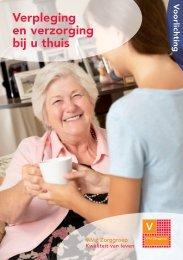 Verpleging en verzorging bij u thuis - Viva! Zorggroep