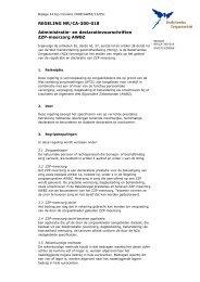 Administratie- en declaratievoorschriften ZZP-meerzorg AWBZ