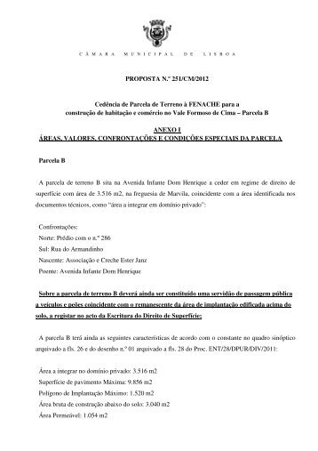 P 251 Anexos - Programa Local de Habitação - Câmara Municipal ...