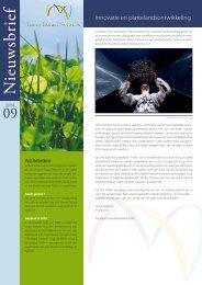 Juni 2009 (.pdf 343.57 KB) - Vlaams Ruraal Netwerk
