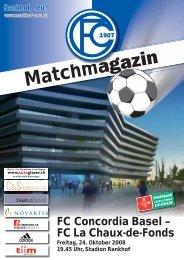 Matchmagazin - FC Concordia Basel