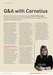 Q&A with Cornelius - Cornelius Polska Sp. z oo