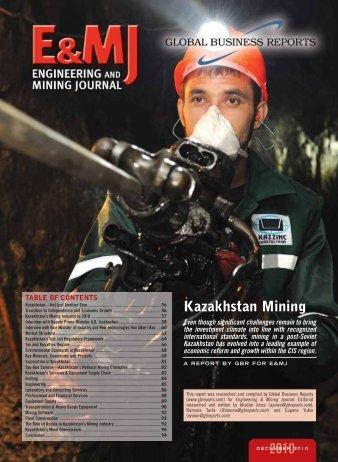 Kazakhstan Mining 2010 - SRK Consulting UK