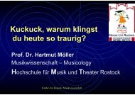 Download Vorlesungsunterlagen (PDF, 680kB) - Kinder-Uni Rostock
