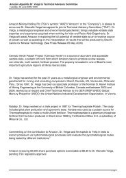 Amazon Appoints Dr. Veiga to Technical Advisory ... - Verde Potash