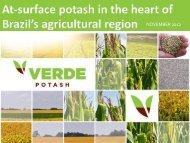 Apresentação do PowerPoint - Verde Potash Plc - Home