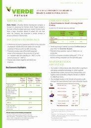 TRANSPORTATION ADVANTAGE CERRADO ... - Verde Potash Plc