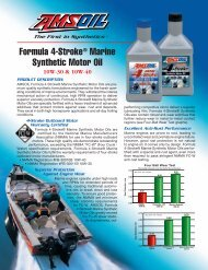Formula 4-Stroke® Marine Synthetic Motor Oil