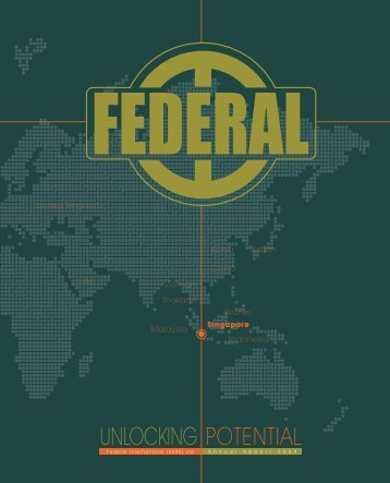 Notes to the - Federal International (2000) Ltd