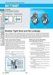 Bubble Tight Seal and No Leakage - Federal International (2000) Ltd