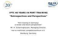 Fort- und Weiterbildung in der Logistik - IPTC