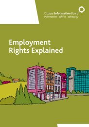 Employment Rights Explained 2010 - Citizens Information Board