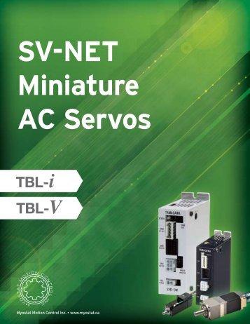 TBL-mini AC Servos - Myostat