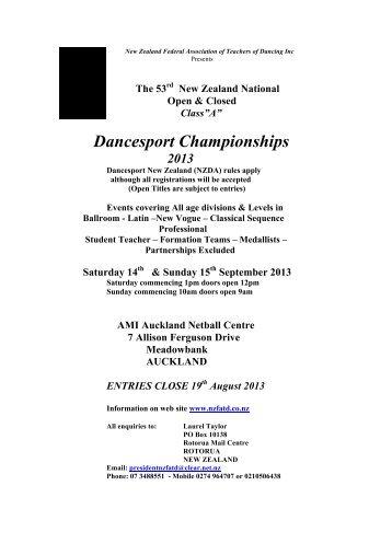 Dancesport Championships - Ucan2 Dance Studio