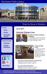 June - Rochester Public Library