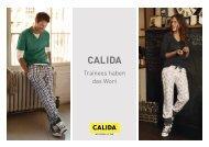 Weitere Informationen zum Trainee-Programm - Calida