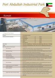 Fact Sheet - Port Abdullah 2.0.cdr - Agility