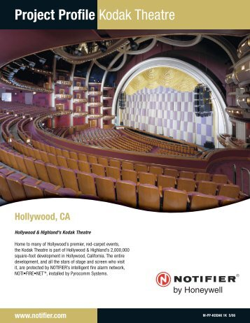 Kodak Theatre - Notifier