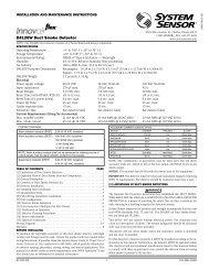 System Sensor Bell 6 Inch Minimax Usa