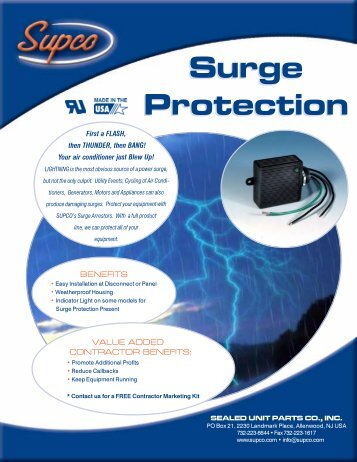 surge protection supco?quality=85 supr universal potential supco supr wiring diagram at couponss.co