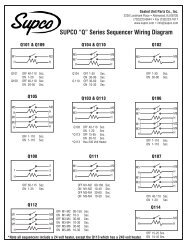 """Q"" Series Sequencer Wiring Diagram - Supco"
