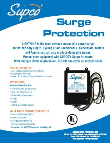 Surge Protection - Supco