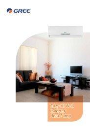 Cozy Hi Wall Inverter Heat Pump - The Insulation Warehouse
