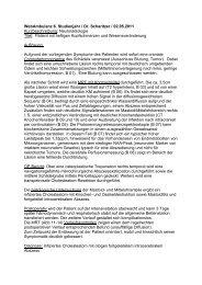 WebAmbulanz 6. Studienjahr / Dr. Scharitzer / 02.05.2011 ...