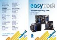 EasypackSealed Condensing UnitsDownload - Realcold