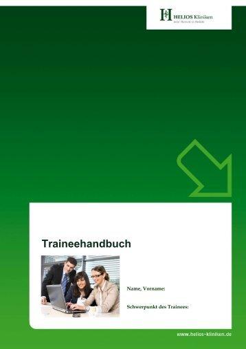 Traineehandbuch - HELIOS Kliniken GmbH